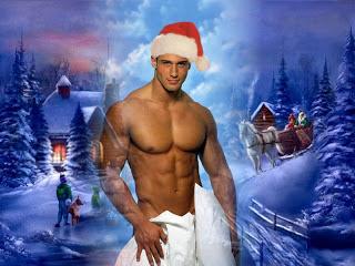 Christmas-hunk