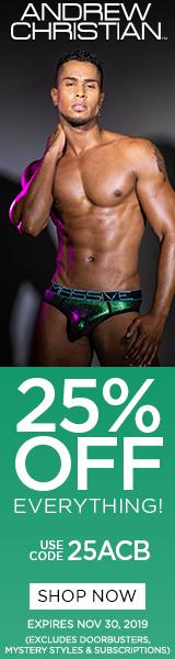 Andrew Christian underwear - discount code