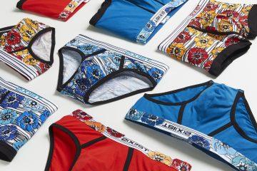 2xist Graphic cotton underwear