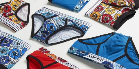 2xist Graphic cotton underwear
