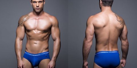 Andrew Chritsian underwear Basix collection