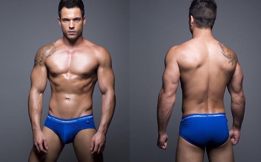 Andrew Chritsian underwear Basix collection