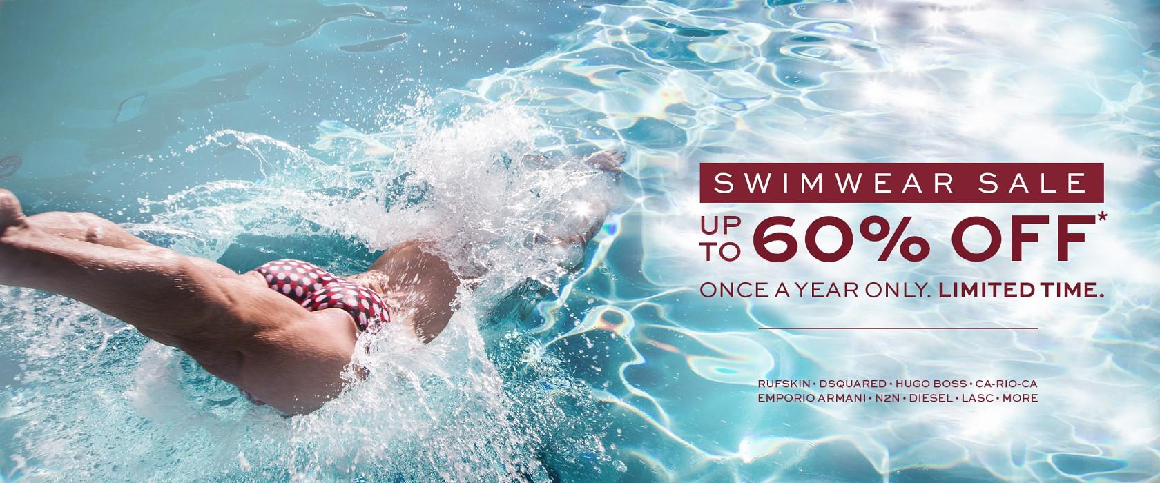 International Jock swimwear sale cover