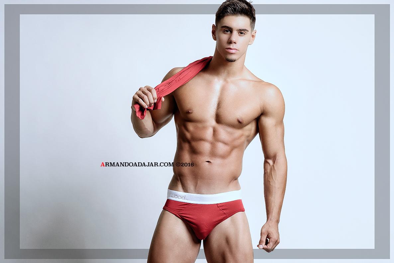 Nick Perillo by Armando Adajar for Wood underwear 06