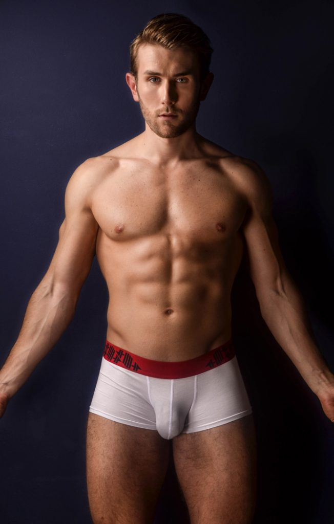 German Model Cyrill For 4 Hunks Underwear Men And Underwear