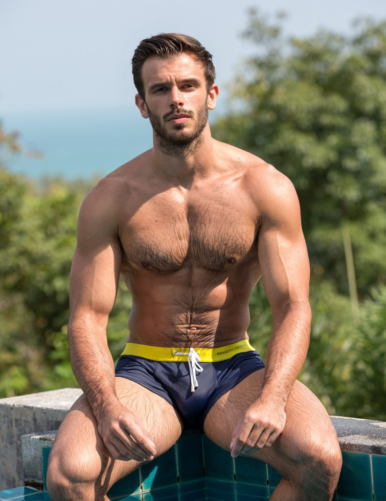 Killian in Garcon Francais swimwear