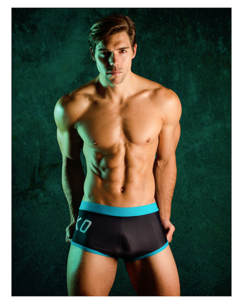Chris Campanioni photographed by Hans Fahrmeyer - Jocko swimwear
