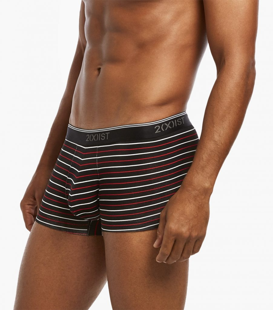 2XIST underwear - Cotton Stretch No-Show Trunk 3-Pack