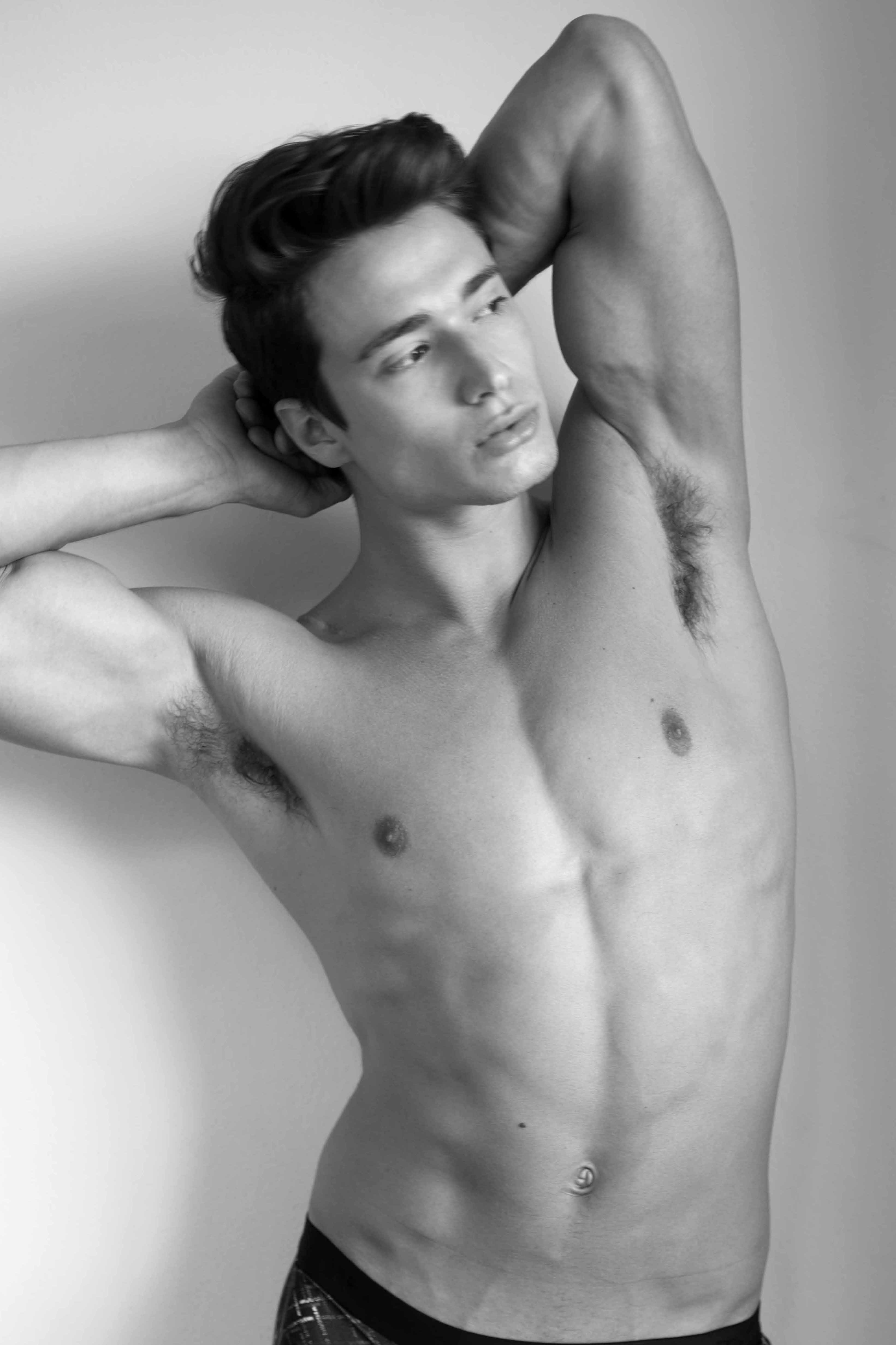 Grant Murray photographed by Harold Mindel - Tani underwear