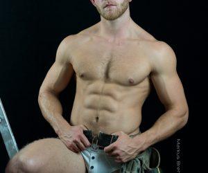 Jack Harris photographed by Markus Brehm - Bluebuck underwear