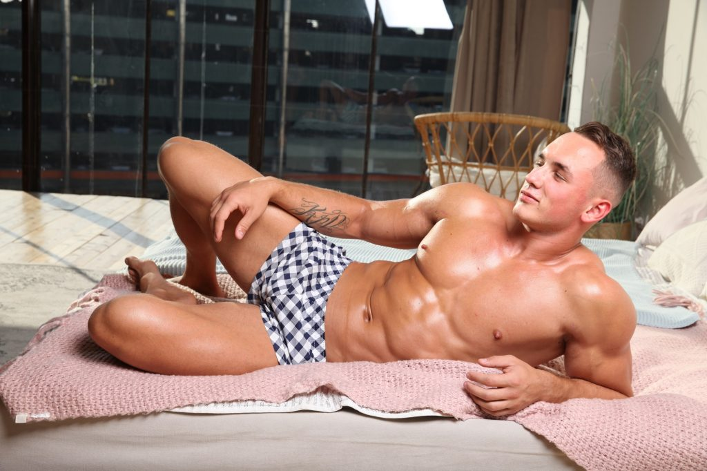 Marcuse swimwear - Calecon checks