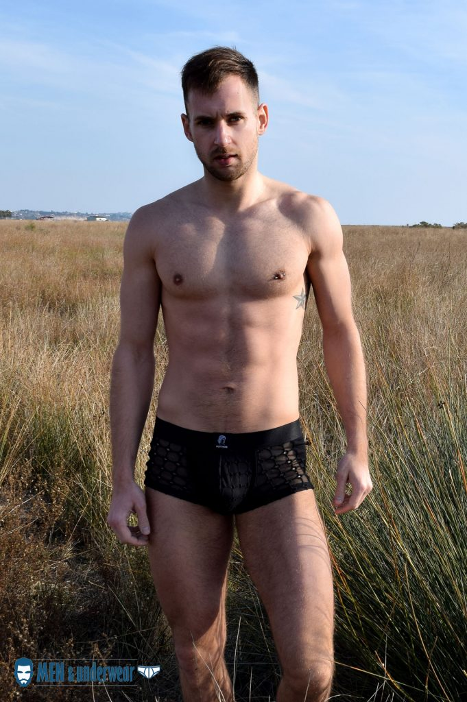 Men and Underwear exclusive Stathis Kapravelos Pothos Underwear