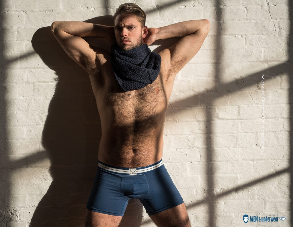 Phil Bruce by Markus Brehm - Bluebuck underwear