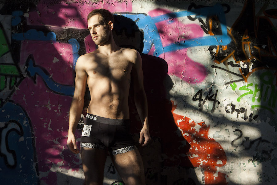 Stathis Kapravelos by Christina Doitsini - Lewd underwear