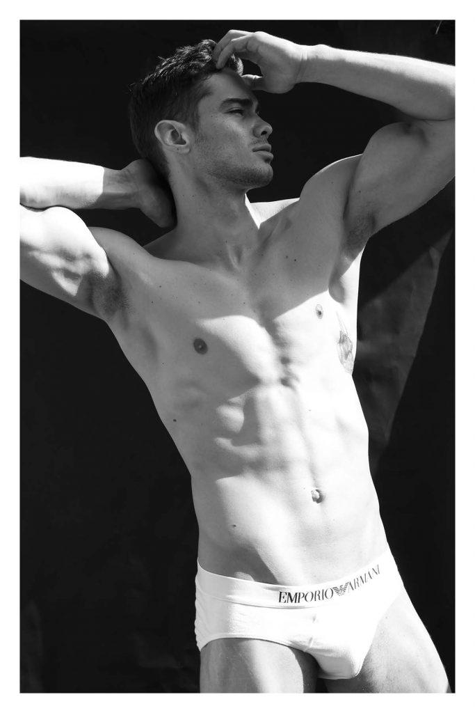 Antonio Silveira by Carlos Mora for Brazilian Male Model Magazine