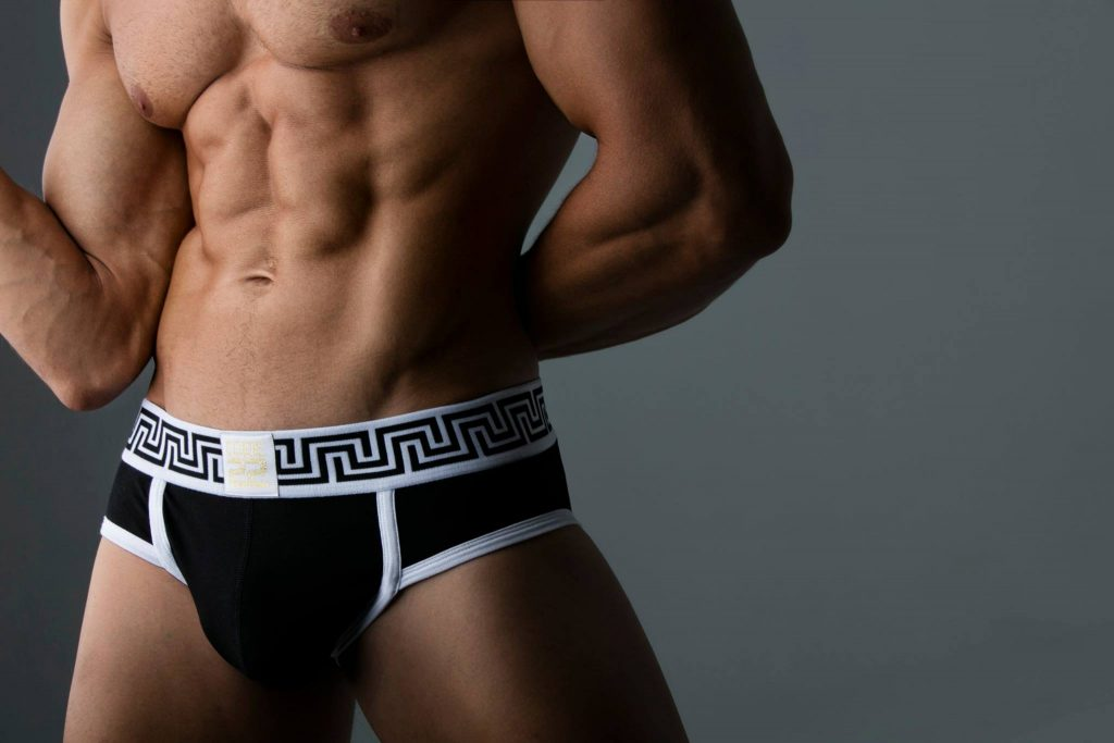 Code 22 underwear Rome Briefs black