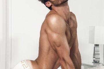 David Ortega - Versace underwear