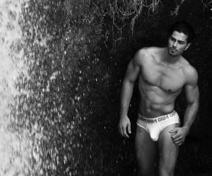Greeks Come True x GARCON Model underwear