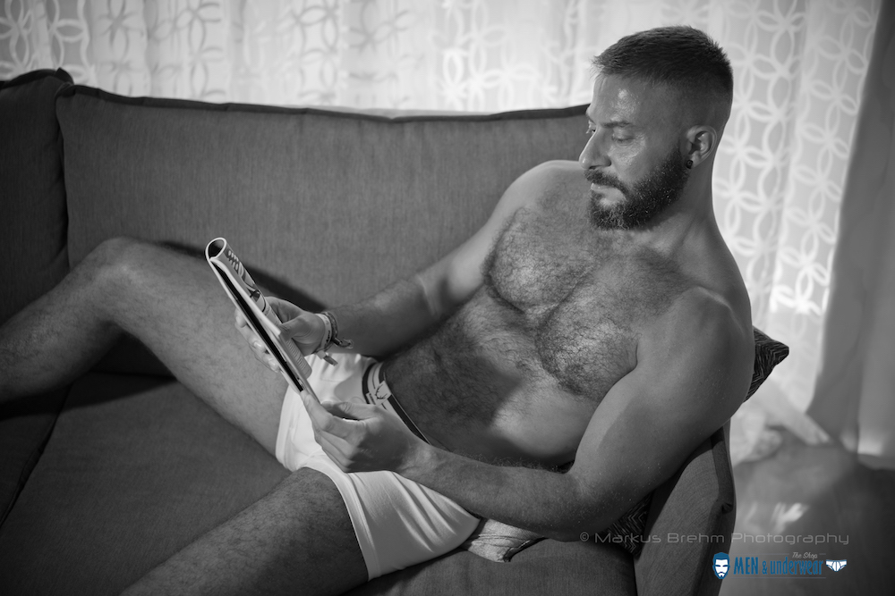 Jesus Hernandez by Markus Brehm - Bluebuck underwear