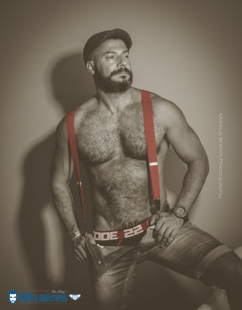 Jesus Hernandez by Markus Brehm Code 22 underwear