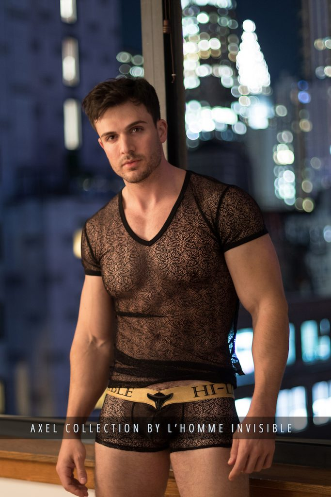 Philip Fusco - L'Homme Invisible underwear