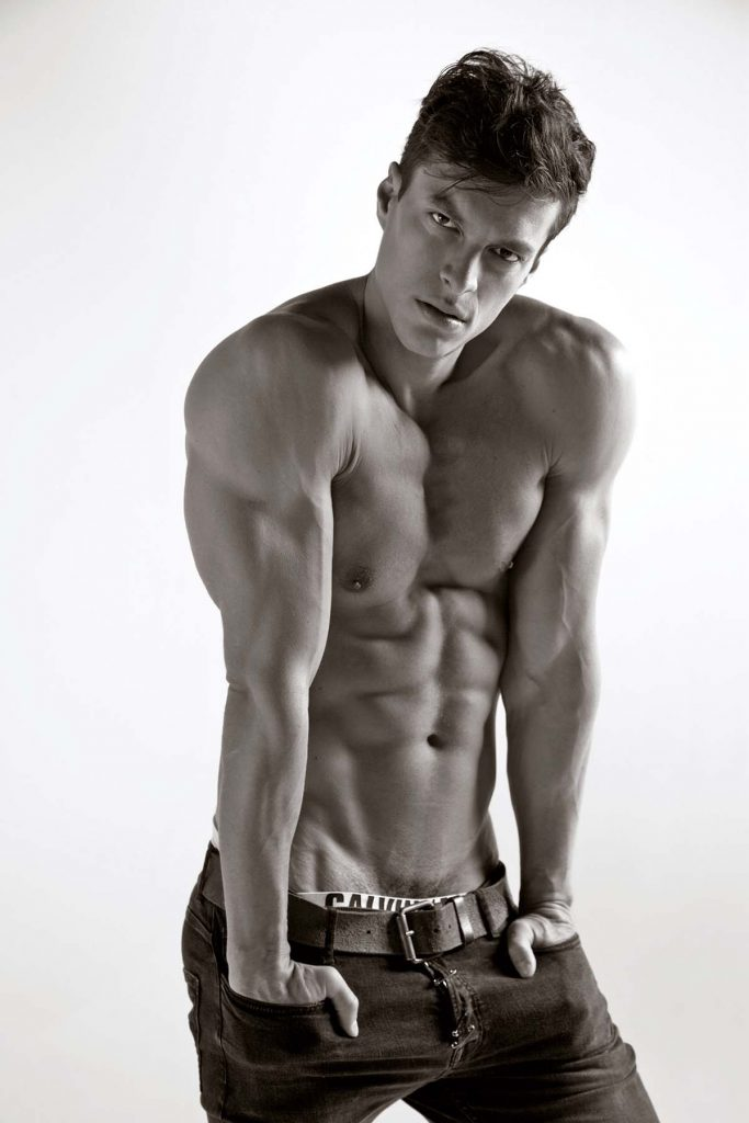 Felipe Anibal by Stefan Mreczko - Calvin Klein underwear