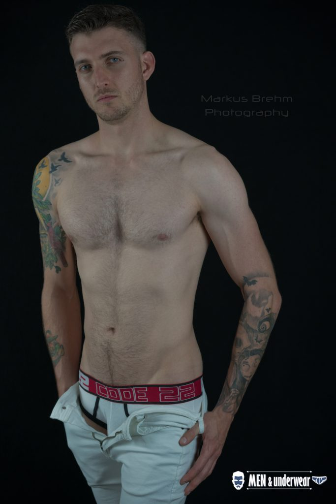Steve James Ranger by Markus Brehm - CODE 22 underwear