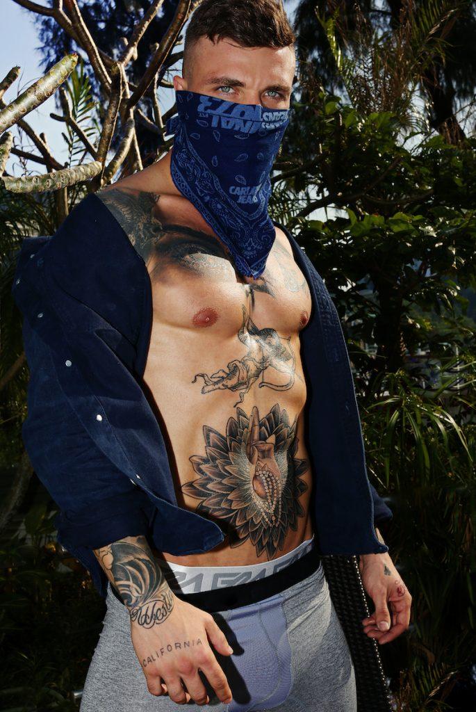Antoni Biali photographed by Karim Konrad - Garcon Model underwear