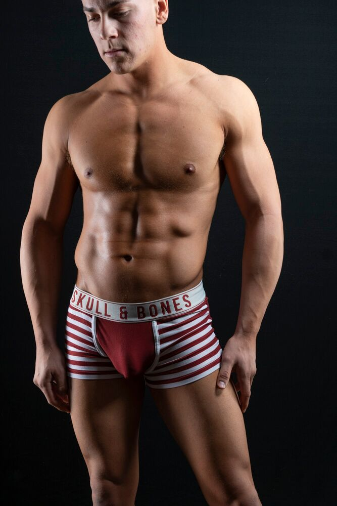 Dillion Meyer by Bradley French - Skull and Bones underwear