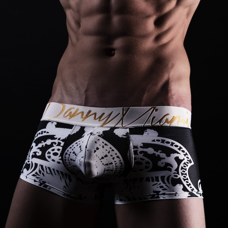 eter Saffa photographed by Bradley French - Danny Miami underwear