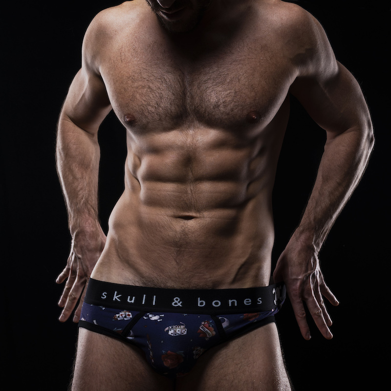 Carson Twitchell - Skull and Bones underwear