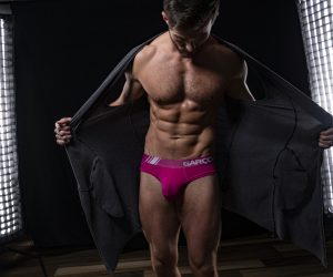 Carson Twitchell photographed by Bradley French - Garcon model underwear