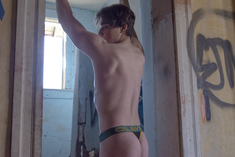 Nicholas Ostella photographed by Adam R Photos – Clever underwear