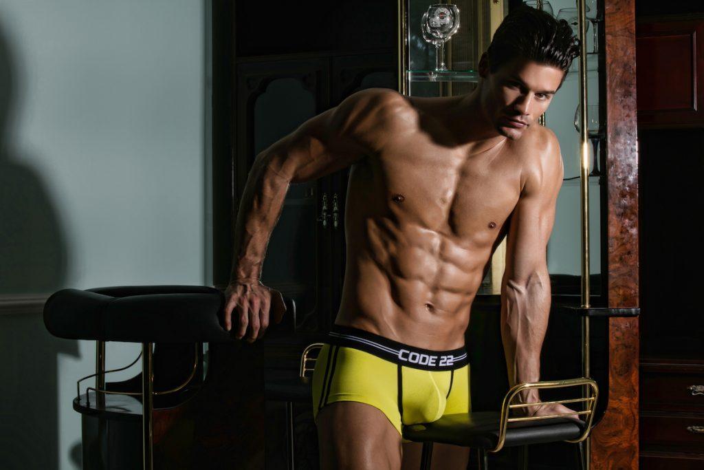 Code 22 underwear - City Lights Boxer Briefs