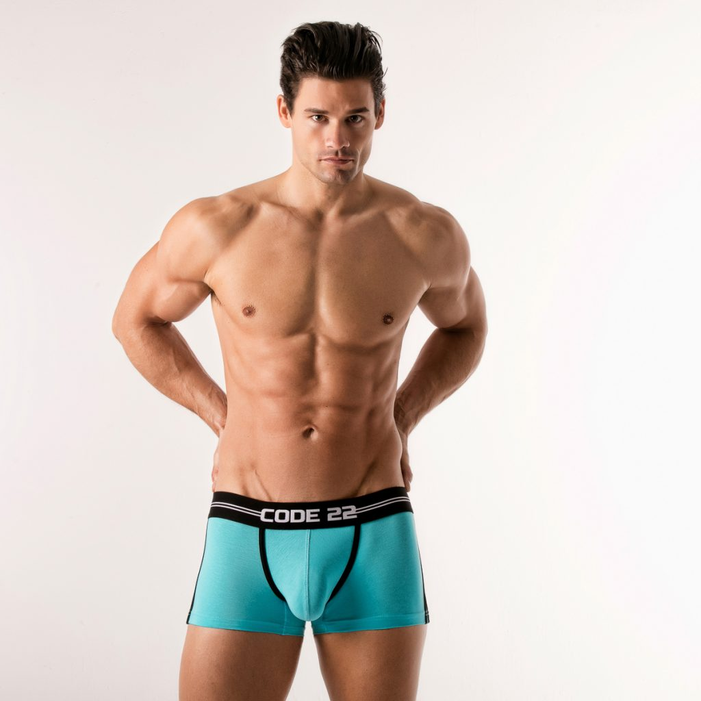 Code 22 underwear - City Lights boxer briefs