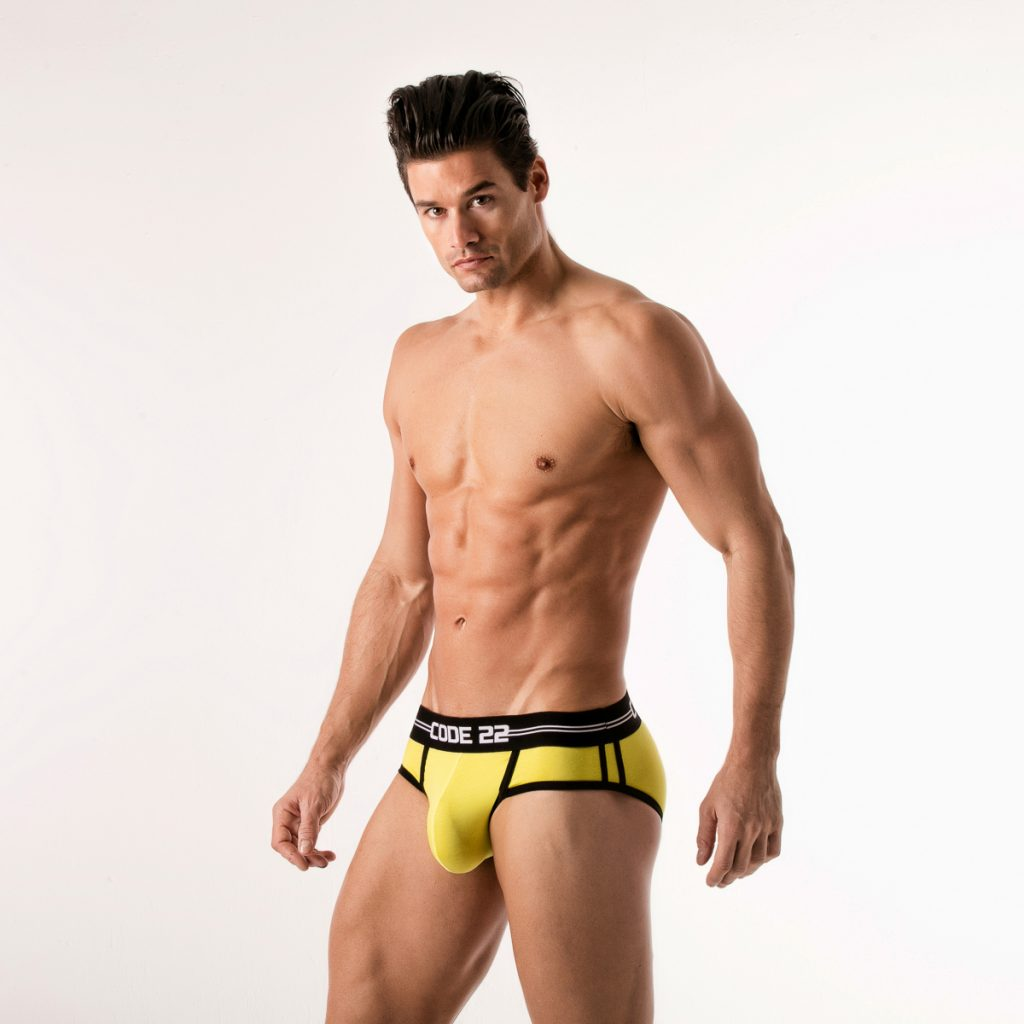 Code 22 underwear - City Lights briefs