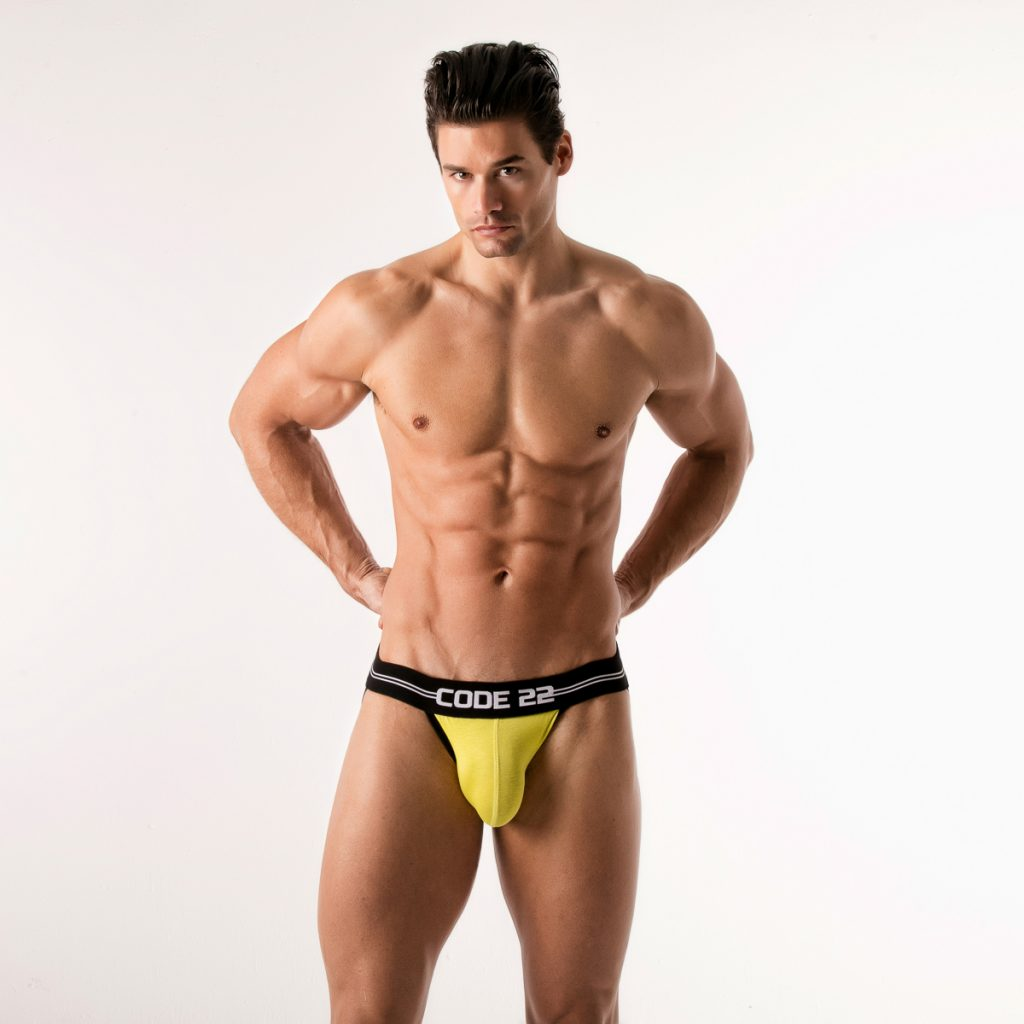 Code 22 underwear - City Lights jockstrap