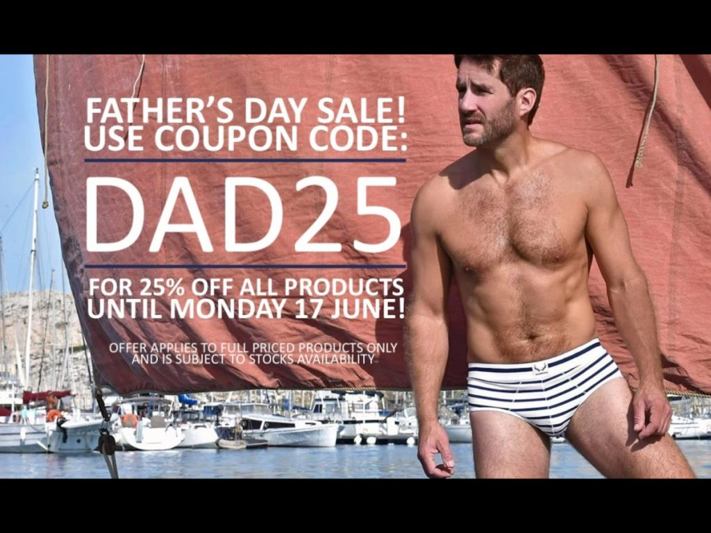 Fathers Day Sale 2019 at Men and Underwear - The Shop