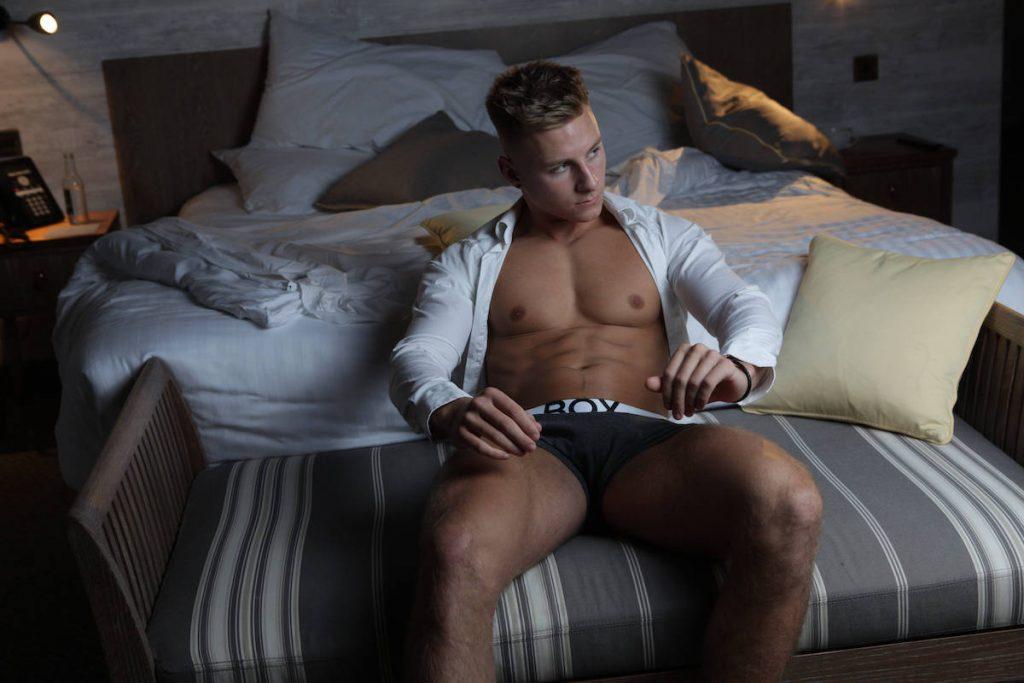 Max Wyatt by Alex Wightman – BOX Menswear underwear