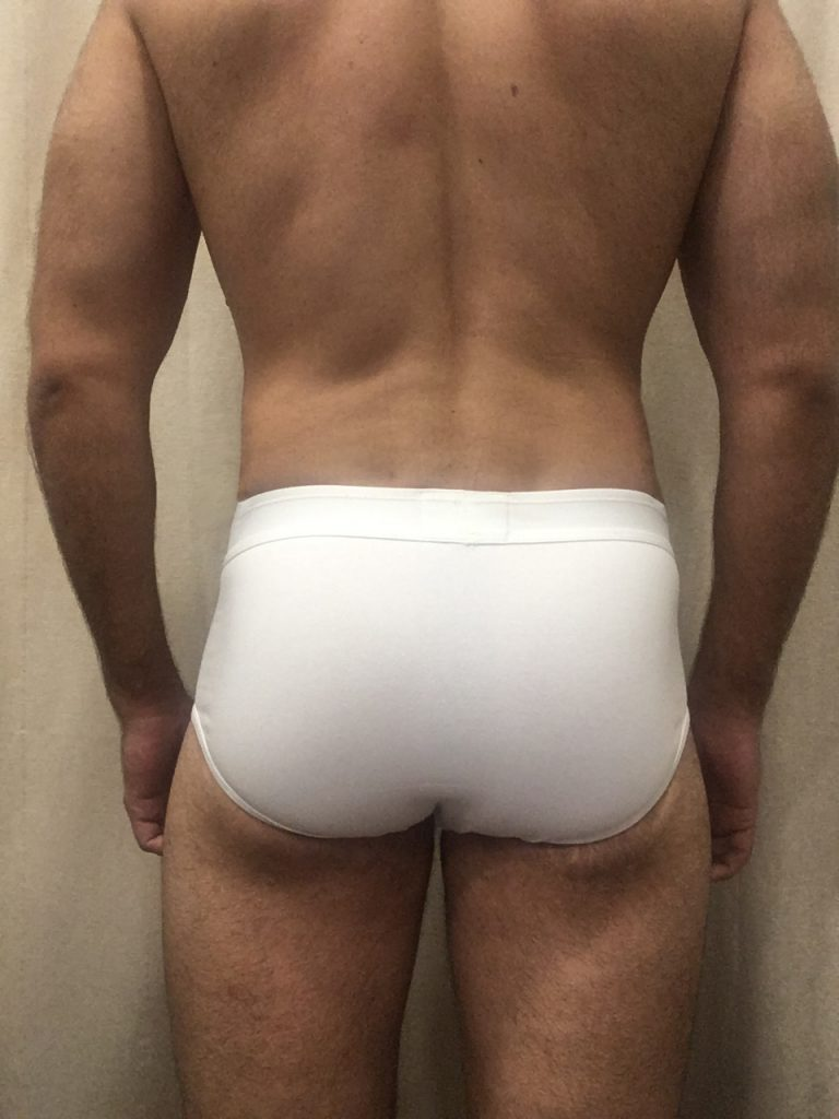 Bluebuck underwear - Triple white briefs