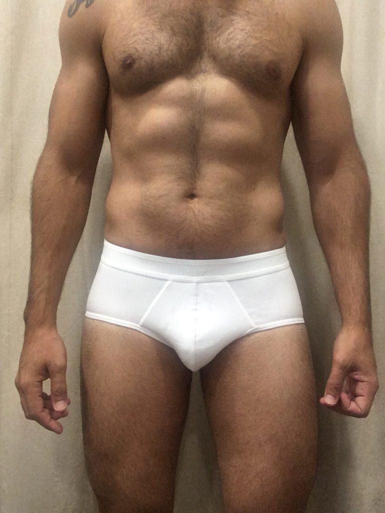 Bluebuck underwear - Triple white briefs