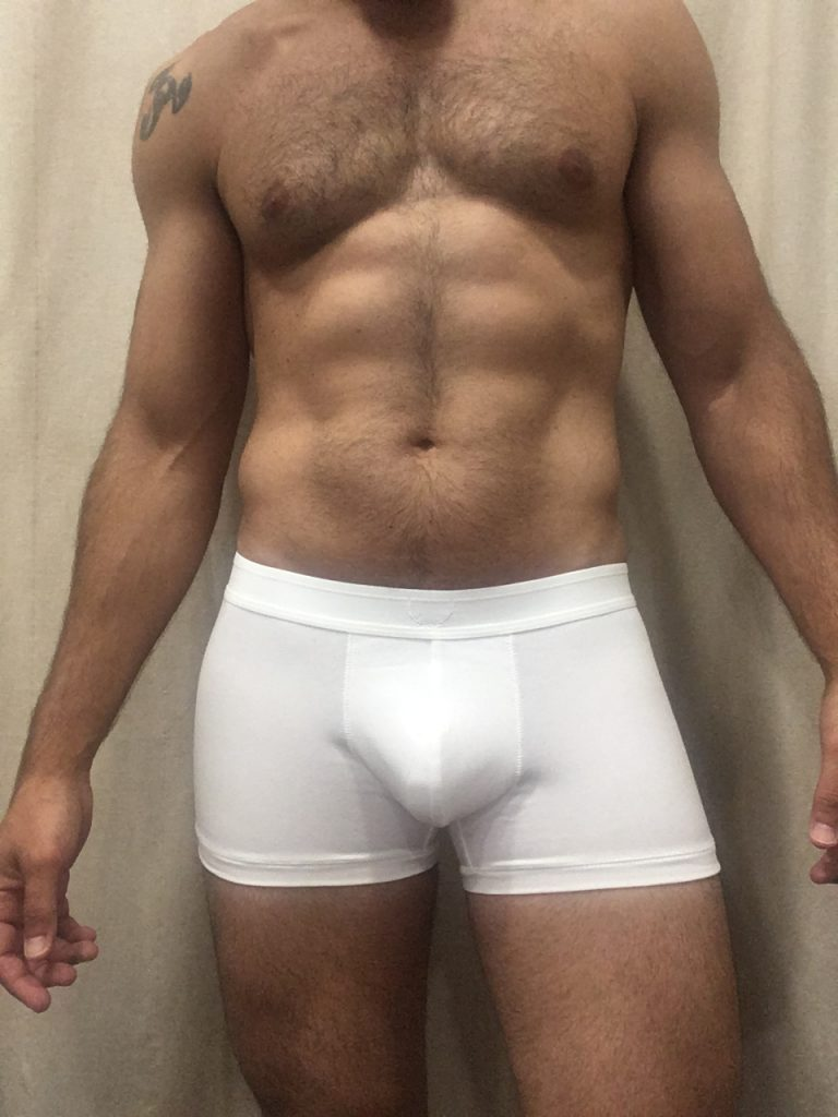 Bluebuck underwear - Triple white trunks