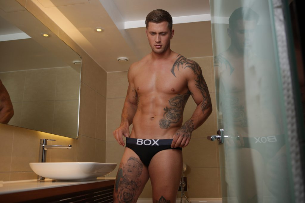 Dan Osbourne photographed by Alex Wightman - BOX Menswear