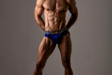 Douglas Bueno by Joan Crisol - Versace underwear