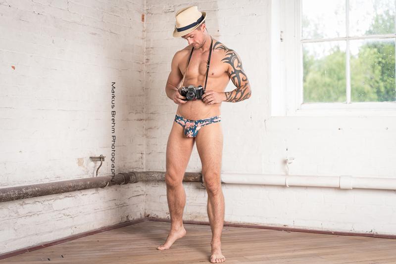 Oliver Spedding by Markus Brehm - Kale Owen underwear