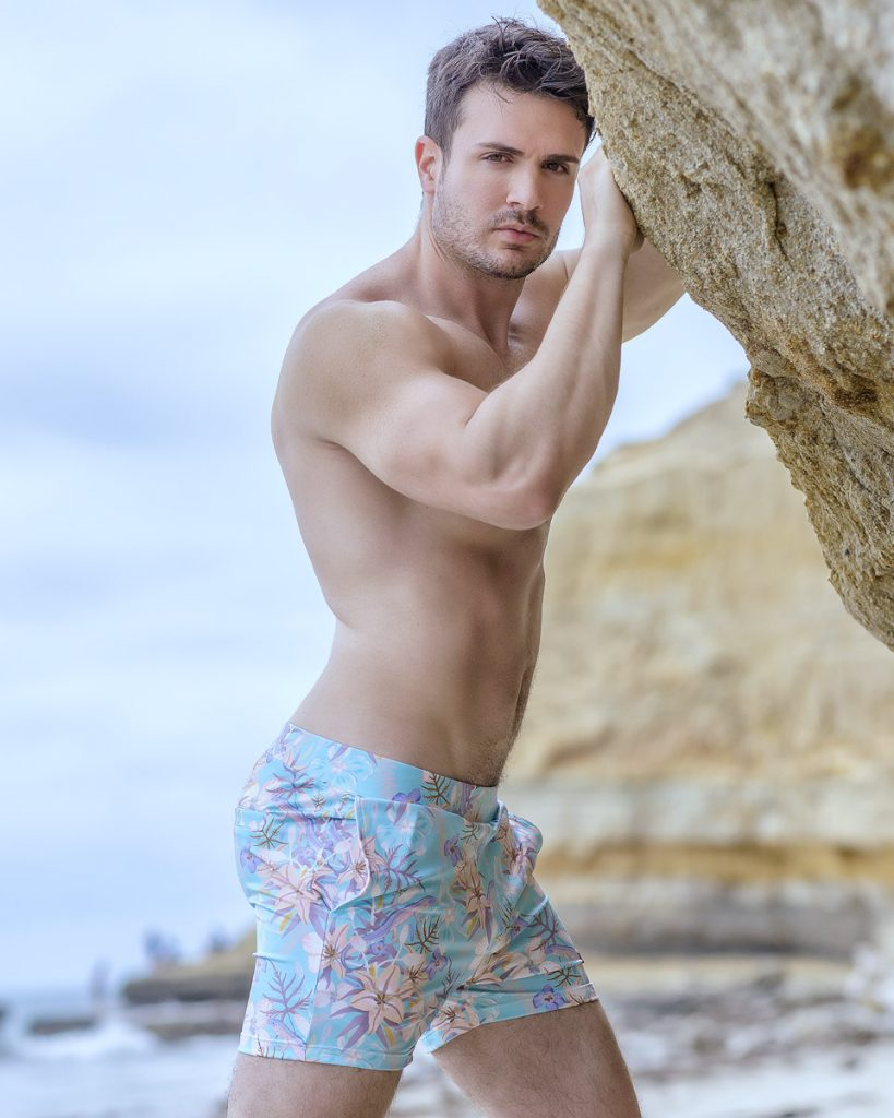 Philip Fusco by Armando Adajar for Hunk2 swimwear