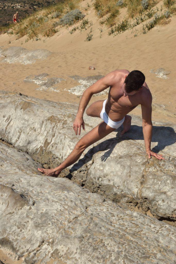 Stathis - Walking Jack underwear - White briefs