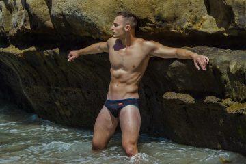 Alex E by Armando Adajar for HUNK2 swimwear