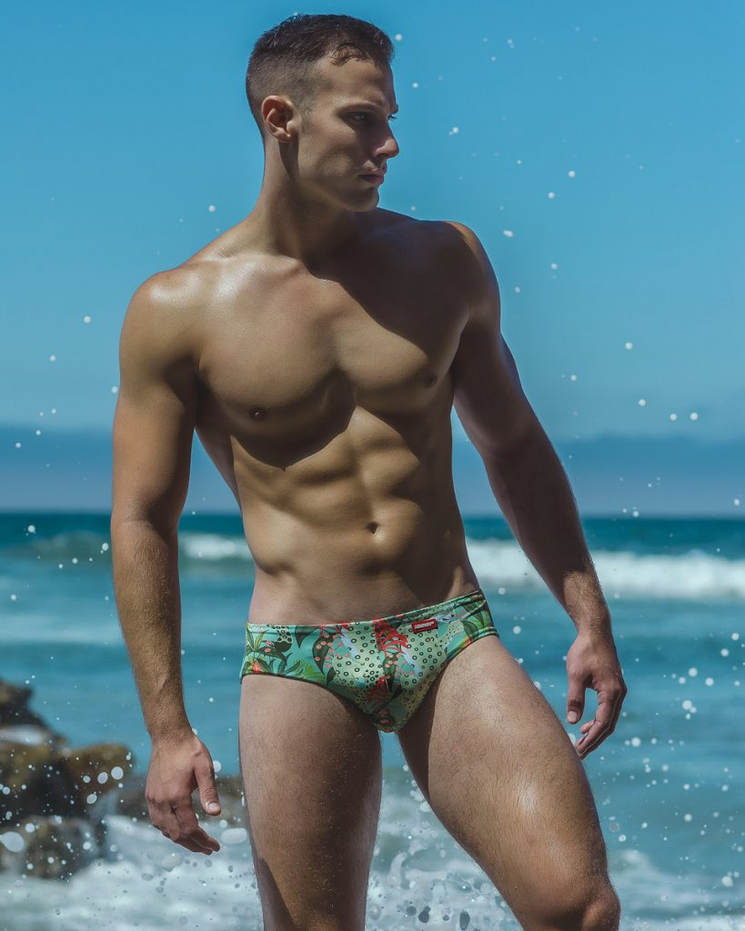 Alex E by Armando Adajar for HUNK2 swimwear