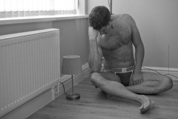 Athlete John Wood photographed by Markus Brehm – CODE 22 underwear